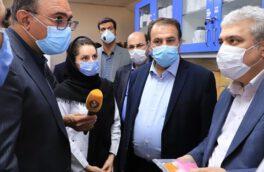 کیت تشخیص ۳۰ ثانیه ای کرونا در شیراز رونمایی شد