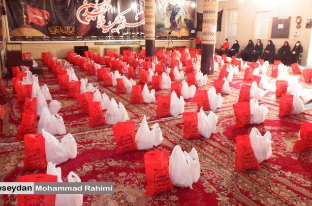 اولین مرحله رزمایش کمک مومنانه در شهر فاروق