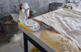 تعطیلی یک واحد نانوایی متخلف در مرودشت