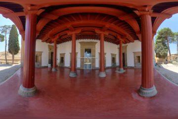 راه اندازی تور مجازی موزه تخت جمشید