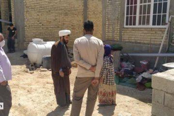 اردوی جهادی یک روزه در روستای احمدآباد کوهپایه برگزار شد
